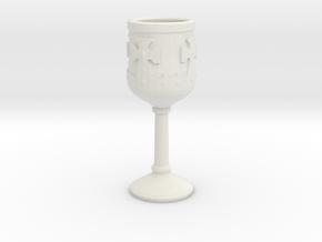 Grail in White Natural Versatile Plastic