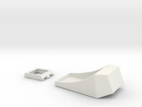 Rangefinder Casing & Viewfinder in White Strong & Flexible
