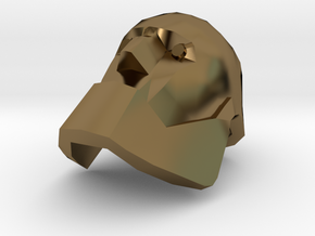 Bot Heavy Head in Polished Bronze