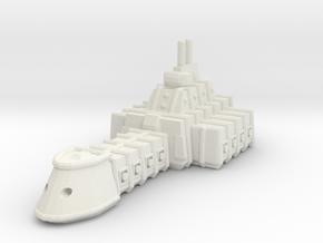 ZD201 Thangrim Medium Cruiser in White Natural Versatile Plastic