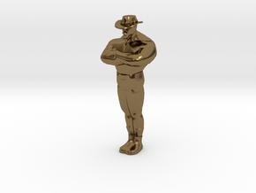 Mini Saxxy in Polished Bronze