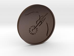 Nightstalker in Polished Bronze Steel