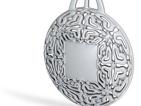 PAh Medalion V2Se84D36h4NULL in Fine Detail Polished Silver