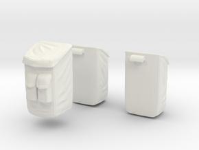 13A-Sample Bags - Apollo 15 & 16 in White Natural Versatile Plastic