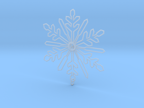 Snow flakes in Smooth Fine Detail Plastic