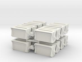 Ballast Gate Miner Type Short [16] - O Scale in White Natural Versatile Plastic