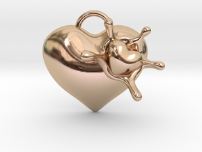 LoveSplash Custom 7 capital letters in 14k Rose Gold Plated Brass