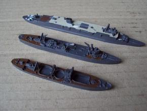 IJN Akashi, Taigei & Kashino 1/1800 in Smooth Fine Detail Plastic