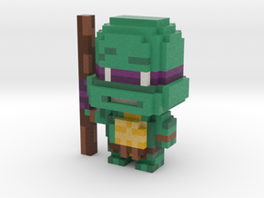 """Don"" Voxel Figurine in Full Color Sandstone"