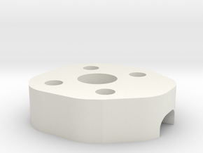 Lowerframe Spacer ZMR in White Natural Versatile Plastic