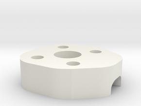 Lowerframe Spacer ZMR in White Natural Versatile Plastic
