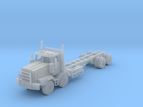 Western Star 4900XD Twin Steer Tandem in Smooth Fine Detail Plastic