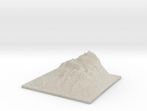 Mountain Landscape 1 in Natural Sandstone