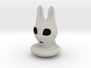 Halloween Character Hollowed Figurine: BunnyGhosty in Full Color Sandstone