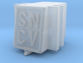 SNCV boite essieux - NMVB assendoos NMVB in Smooth Fine Detail Plastic