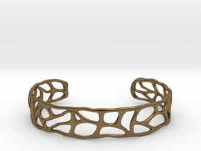 Bracelet abstract version #1 in Natural Bronze