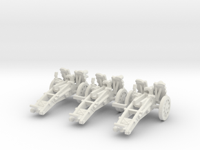 1/160 sIG33 cannon in White Strong & Flexible