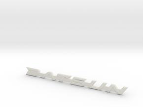 Datsun 510 Fender & Trunk Emblem in White Strong & Flexible