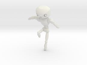robo man in White Strong & Flexible