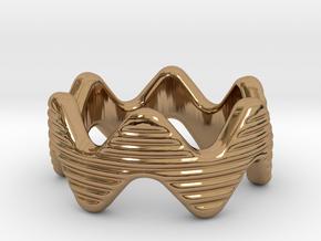 Zott Ring 22 - Italian Size 22 in Polished Brass