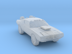 Wasteland 4x4 charger in Smooth Fine Detail Plastic