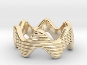 Zott Ring 32 - Italian Size 32 in 14k Gold Plated