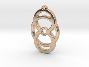 M372 in 14k Rose Gold Plated