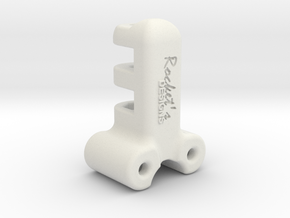 EDrum Rocket Trigger System (Rod Ends) in White Strong & Flexible