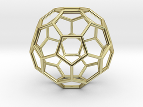 Hedron in 18k Gold Plated Brass