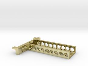 G751 SSD M.2 Bracket in 18k Gold Plated Brass