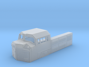 SD70ACe BB Cab 1:87 in Smooth Fine Detail Plastic