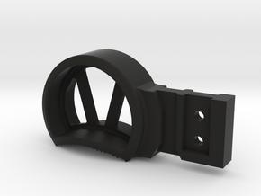 H&K Skeletonized Small (GHK G5 Charging Handle) in Black Natural Versatile Plastic