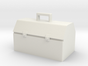 1/10 Toolbox M2 in White Natural Versatile Plastic