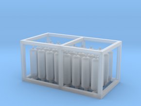 LPG Tanks 50kg 16x2, N-scale in Smooth Fine Detail Plastic