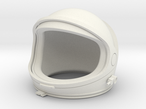 Desktop Astronaut (helmet) in White Strong & Flexible