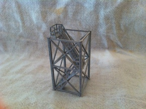 'HO Scale' - 10'x10'x20' Tower With Stairway in Smooth Fine Detail Plastic