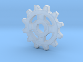 One Inch Eight Normal Spoke Gear in Smoothest Fine Detail Plastic