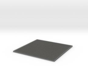 Scale Model Rivets.  2070x 0.65mm Diameter Rivets in Natural Silver