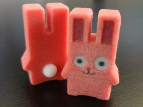 Mini Full Colour Freezer Bunny in Full Color Sandstone