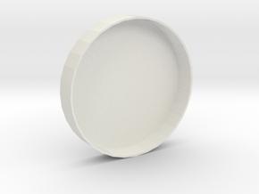 Mecha Glove - Scorpion Box - Bottom enclosure in White Natural Versatile Plastic