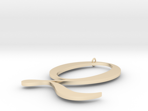 Q in 14K Yellow Gold