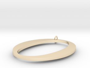 O in 14K Yellow Gold