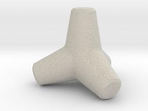 Tetrapod in Natural Sandstone