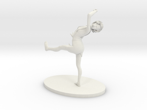 Dance! in White Natural Versatile Plastic