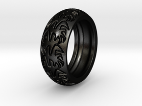 Ray B. - Tire Ring in Matte Black Steel: 9 / 59