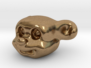 Cute Puppy in Natural Brass