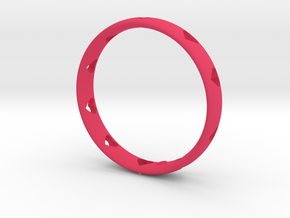 bracelets with hearts in Pink Processed Versatile Plastic