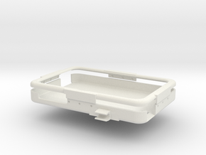 ToughPad Mount Center Thin Battery in White Strong & Flexible
