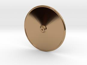 Ships Wheel 34mm in Polished Brass