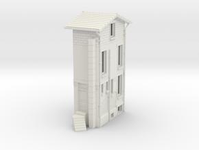 Maison Lemaitre H0 in White Natural Versatile Plastic